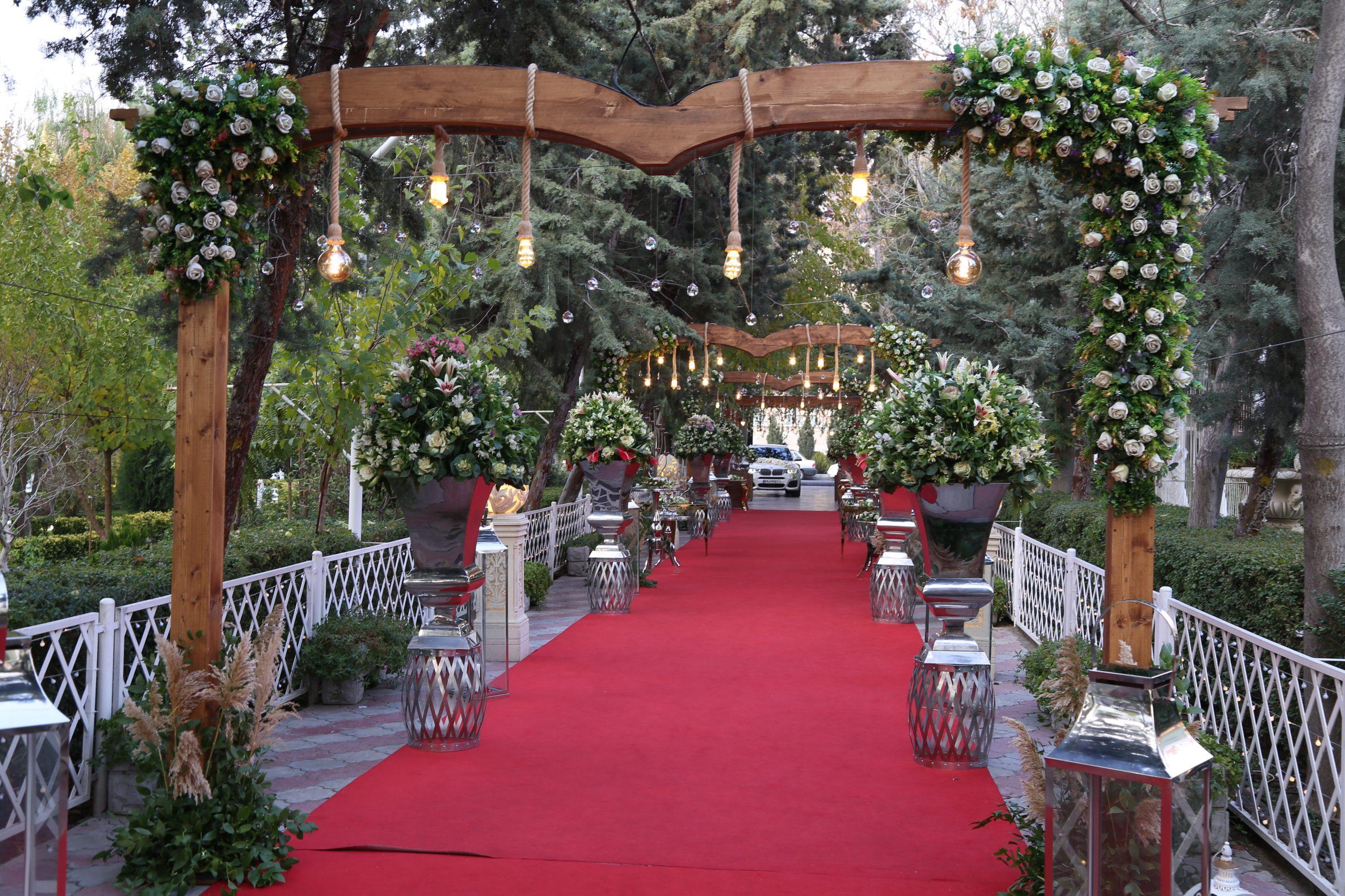 بهترین باغ تالار در چیتگر