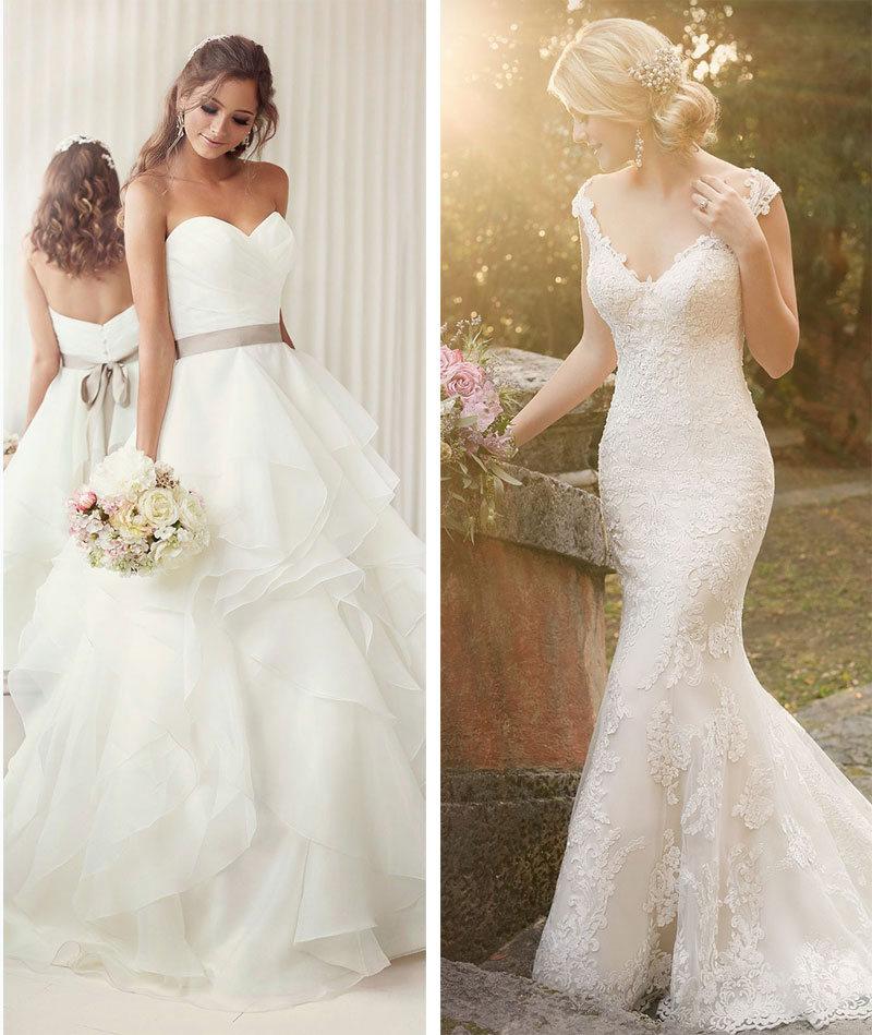 زیباترین لباس عروس را انتخاب کنید