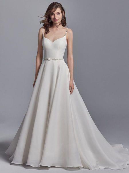 لباس عروس طرح A-LINEA-LINE