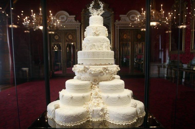 اندازه کیک